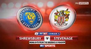 Shrewsbury 1-0 Stevenage