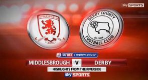 Middlesbrough 1-0 Derby