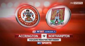 Accrington 0-1 Northampton