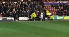 Brentford fan altercation