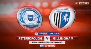Peterborough 2-0 Gillingham