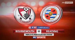 Bournemouth 3-1 Reading