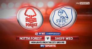 Nottingham Forest 3-3 Sheffield Wednesday