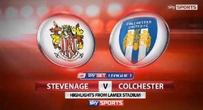 Stevenage 2-3 Colchester