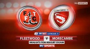 Fleetwood 2-2 Morecambe