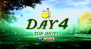 Masters - Top Shots, Day 4