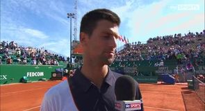 Djokovic happy with game