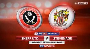 Sheffield United 1-0 Stevenage