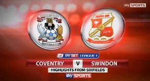 Coventry 1-2 Swindon