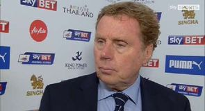 Redknapp: We didn't deserve to lose