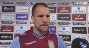Vlaar happy with point