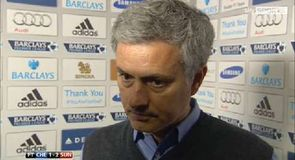 Mourinho 'congratulates' referee
