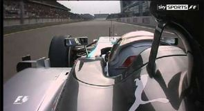 Chequered flag confusion in China