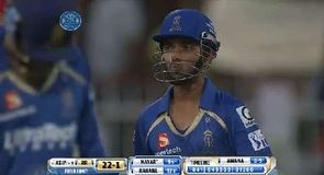 Kings XI Punjab v Rajasthan Royals - Wickets
