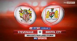 Stevenage 1-3 Bristol City
