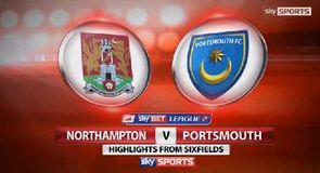 Northampton 0-1 Portsmouth