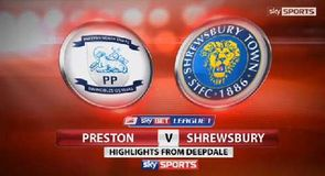 Preston 5-2 Shrewsbury