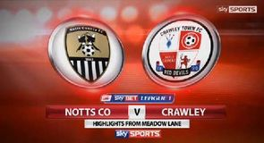 Notts County 1-0 Crawley