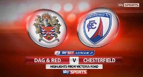 Dag & Red 0-1 Chesterfield