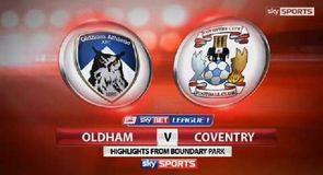 Oldham 0-0 Coventry