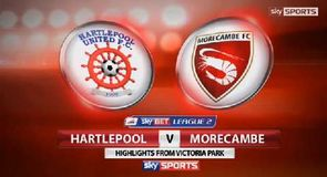 Hartlepool 2-1 Morecambe