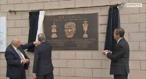 Newcastle unveil Joe Harvey plaque