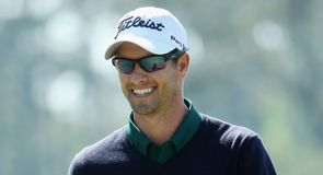 Adam Scott made the perfect start to his title defence, and had every reason to smile.