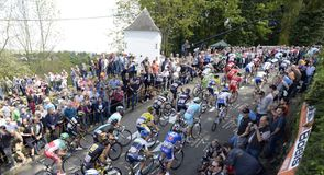 The Mur de Huy took centre stage once again