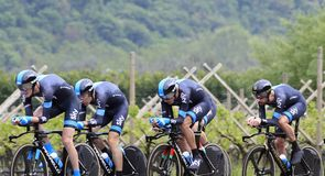 Team Sky produced a strong start to the race in Italy with third place