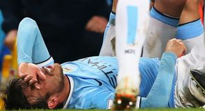 Pellegrini waits on Silva injury