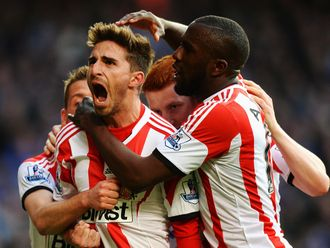 Borini: Netted the winner from the penalty spot