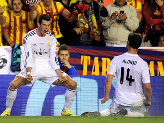 Bale: Bagged the winner
