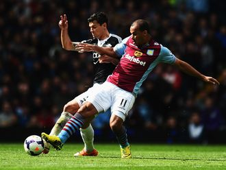 Agbonlahor: Couldn't find a way through