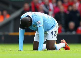 Toure: Down and out