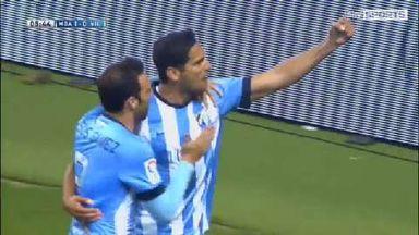 Malaga 2-0 Villarreal Highlights