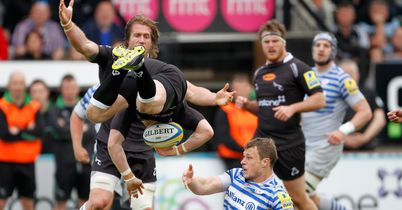Falcons fall short against Saracens