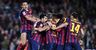 Barca Bounce Back To Winning Ways