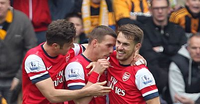 Gunners Tame Toothless Tigers