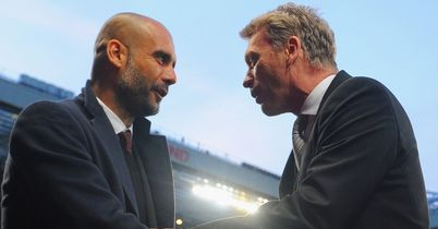 Guardiola & Moyes: Worlds apart