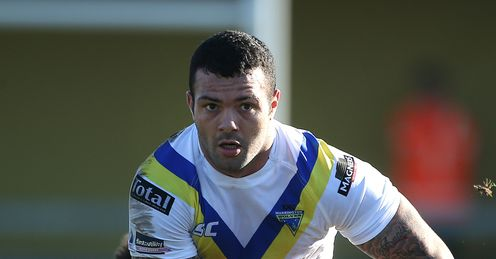 Chris Bridge Warrington Wolves