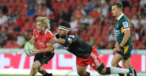 Crusaders v Lions Super Rugby
