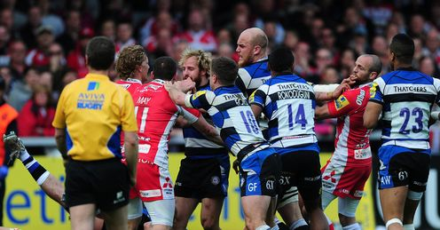 bath gloucester brawl