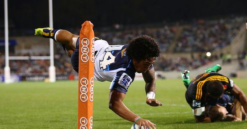 Joe Tomane Brumbies v Chiefs