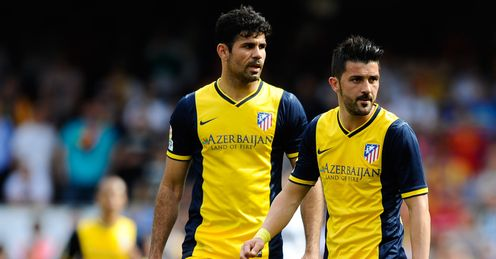Can Diego Costa and David Villa send Chelsea tumbling out of the Champions League?
