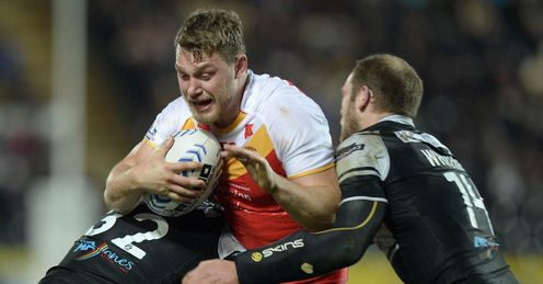 Elliott Whitehead Catalan Dragons 2014