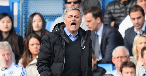 Jose Mourinho: Launched a thinly veiled attack on match officials