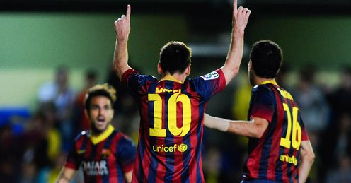 Barcelona edged Villarreal 3-2 at El Madrigal on Sunday evening