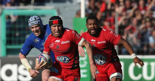 Matt Giteau of Toulon