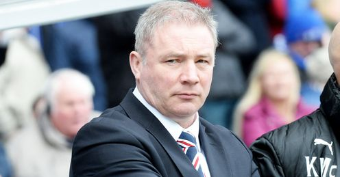 Mixed season for Rangers boss Ally McCoist