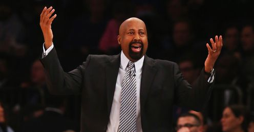 Mike Woodson: sacked by the Knicks